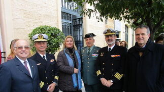 Lola Palomino, Jesús Núñez, Vicente Ortells y Luis Mollá.