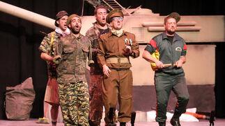 3ª Guerra Mundial (cuarteto de Sevilla).  Foto: Canterla