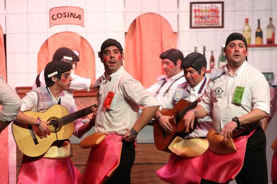 Los Jefes (murga de Burguillos)  Foto: Canterla
