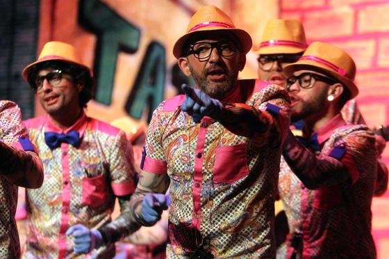 Los Tatuadores (comparsa de Punta Umbría)  Foto: Canterla