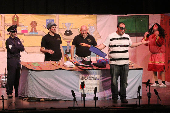 Un Cuarteto con Empeño (cuarteto de Huelva)  Foto: Canterla
