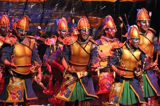 Las Flechas (comparsa de Punta Umbría)  Foto: Canterla