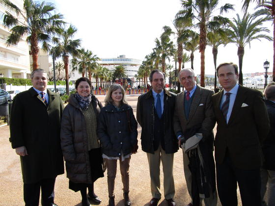 Francisco Fernández -Daza, Ana Ducasse, Belén Gutiérrez-Maturana, Fernando Jiménez de Alvear, Eugenio y Pedro Molina de Alvear.