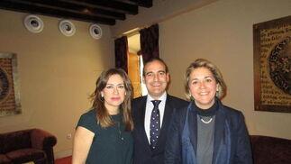 Lourdes del Río, Jose Romeu y Marta Pérez-Rubio.