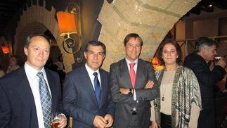 Ramón Romero, Lorenzo del Río, Manuel Estrella y Marta Dodero.