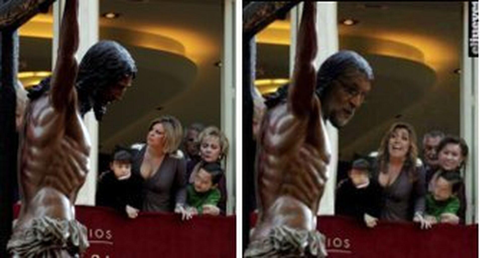 Polémica En Crucifixión Por Un Fotomontaje De El Jueves