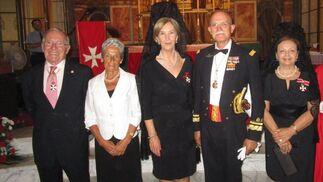 Fernando Coimbra, Nena Pascual, Carmen Cózar, Agustín Rosety e Iñaki Sánchez.  Foto: Ignacio Casas de Ciria