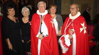 Amparo Serrano, Eli Cuadrado, Manuel Navarro, Charo de Cos y Antonio Martín-Arroyo.  Foto: Ignacio Casas de Ciria