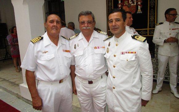 Francisco Javier Balón, Manuel Outón y José Antonio Rodríguez.  Foto: Ignacio Casas de Ciria
