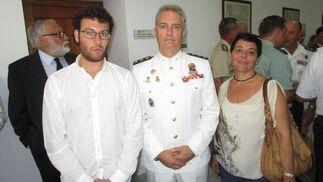Adrián Martínez de Pinillos, Joaquín Tomás González y Aurora de la Rosa.  Foto: Ignacio Casas de Ciria