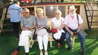 Jesús Estevez, Marilu Losada, María Luisa Núñez y Paco Muñoz.  Foto: Ignacio Casas de Ciria