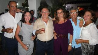 Jorge Navarro, Sofía Villar, Bartolome Varela, Paloma LLanza, Jaime Arango y Maica Álvarez.  Foto: Ignacio Casas de Ciria