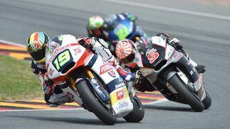 Carrera de Moto2  Foto: EFE