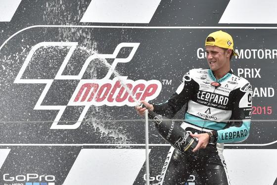 Carrera de Moto3  Foto: EFE