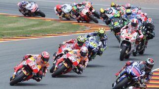 Carrera de MotoGP  Foto: EFE