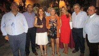 Antonio Hernández Rodicio, Fernando Santiago, Ana Romero, Carmen Morillo, Sandra Golpe y Antonio Yélamo.  Foto: Ignacio Casas de Ciria