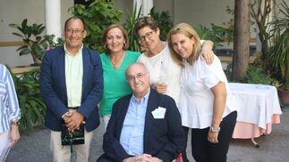 José Ignacio Martínez del Cerro con Manuel Requejo, Caty Fernández, Ana Navas y Teresa Moreu.  Foto: Ignacio Casas de Ciria