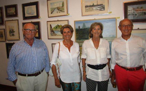 Juan Carlos Ballestero, Beti Gómez, Verónica Osborne y Guillermo Fernández Pos  Foto: Ignacio Casas de Ciria