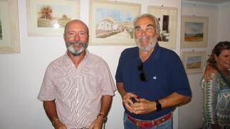 Humberto Ybarra  con Enrique Osborne.  Foto: Ignacio Casas de Ciria