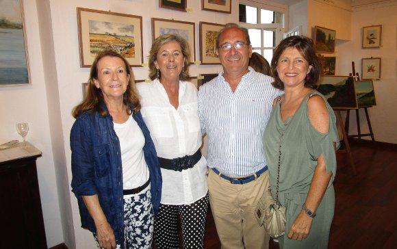 Juana Ruz, Verónica Osborne, Álvaro Jiménez del Cuvillo y Elisa Terry.  Foto: Ignacio Casas de Ciria