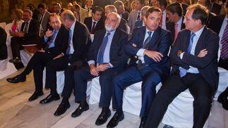 José Antonio Carrizosa, Francisco Ferraro, Antonio Carrillo, Pablo Pérez y Luis Fernández- Palacios.  Foto: JUAN CARLOS VAZQUEZ / VICTORIA HIDALGO