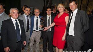 Vito Epíscopo, Jose María Prados, Juan Ramón Olmos, José Fernando López Moreno; Miriam Millán y Rafael Comino.  Foto: JUAN CARLOS VAZQUEZ / VICTORIA HIDALGO