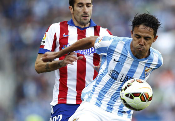 Los 10 jugadores más tarjeteros del Málaga