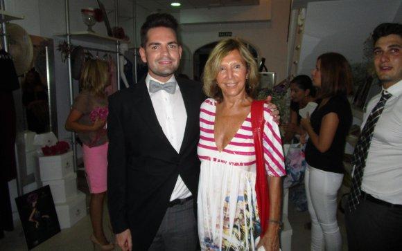 El empresario Alberto Nieto con Concha Baras.  Foto: Ignacio Casas de Ciria