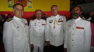 Antonio Pintos, Antonio Rubeiriz, Jesús de Vicente y Manuel de la Puente.  Foto: Ignacio Casas de Ciria