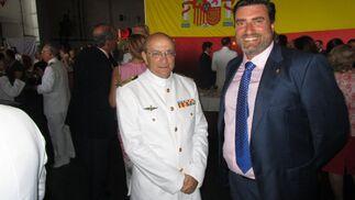 José Caravaca de Coca con Patricio Poullet.  Foto: Ignacio Casas de Ciria