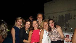Inma Martínez, Cuqui Crespo, Gema Rodríguez Téllez, Pepe Amaya, Susana Casado y Ana Senabre.  Foto: Ignacio Casas de Ciria