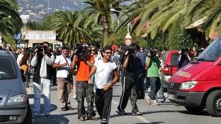 14-11-2006: Detención de Maite Zaldívar  Expectación ante el arresto de la exexposa de Julián Muñoz. También fue detenido el hermano de ésta, Jesús Zaldívar, acusado por blanqueo de capitales.