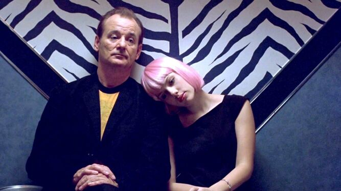 Bill Murray y Scarlett Johansson, en 'Lost in Translation'.
