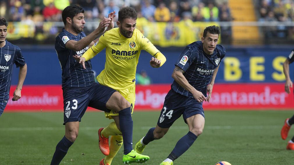 Las imágenes del Villarreal-Málaga