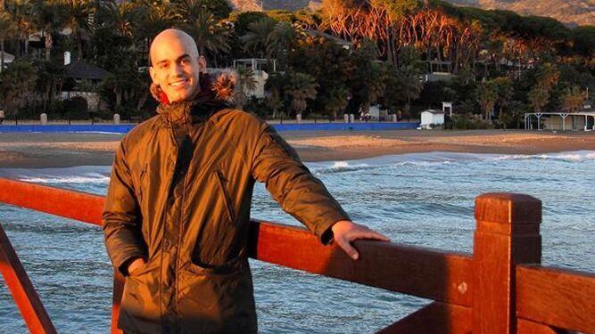 Pablo Ráez, en una de sus últimas apariciones, hace un mes