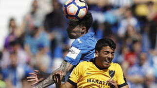 El Leganés-Málaga, en imágenes