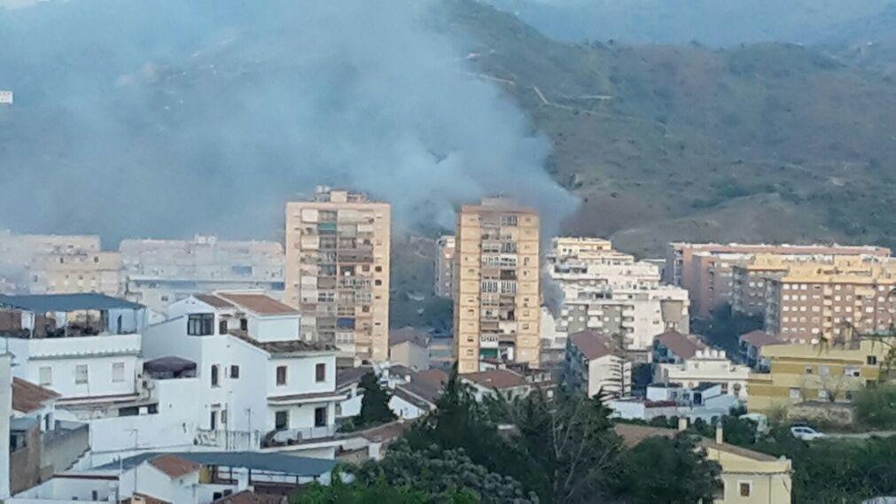 Las im genes del incendio en ciudad jard n - Ciudad jardin malaga ...