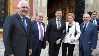 Santiago Herrero, Luis Miguel Martín Rubio, Joaquín Holgado, María Teresa García y José Luis Ballester.