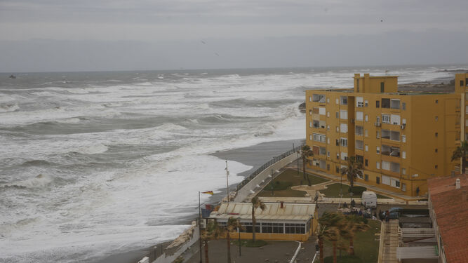 El temporal en la zona de Sacaba.