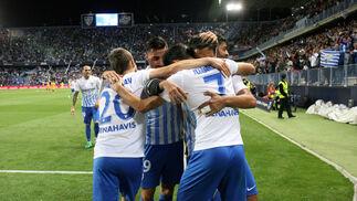 El Málaga-Sevilla, en imágenes