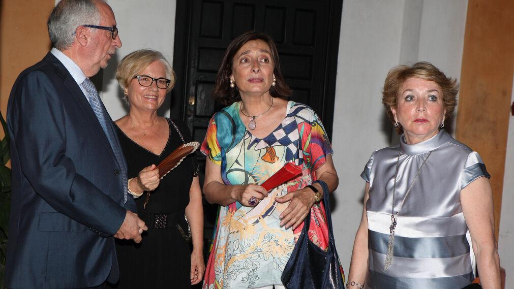 José Aguilar, Mimi Caro, Pilar García y María Martín.