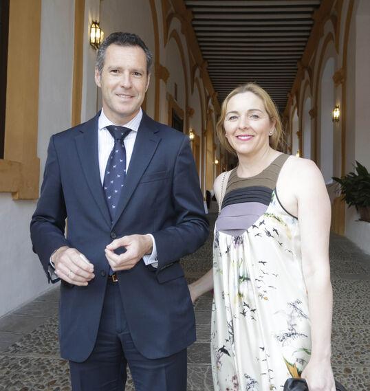 José María Pérez Garvey y Carmen Sánchez-Haro.