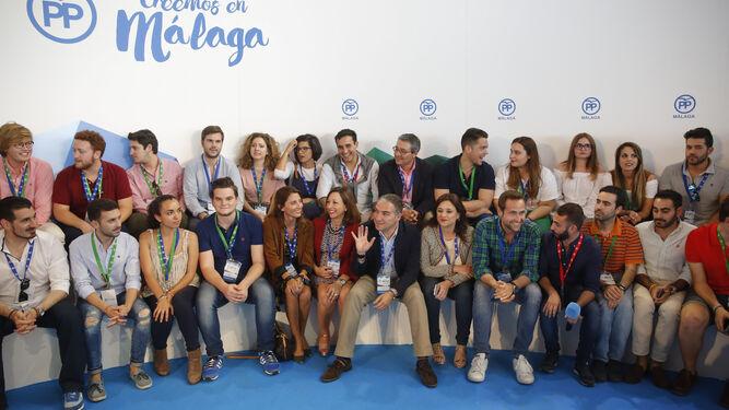 Ayer hubo un encuentro con los jóvenes de Nuevas Generaciones del PP.