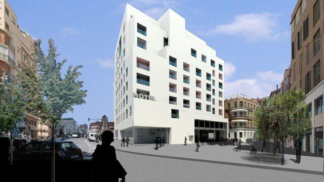 La promotora del hotel de moneo plantea una nueva v a para for Hotel diseno malaga