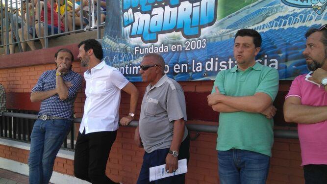 De izquierda a derecha: Arnau, Mandiá, Ben Barek y Calzado.