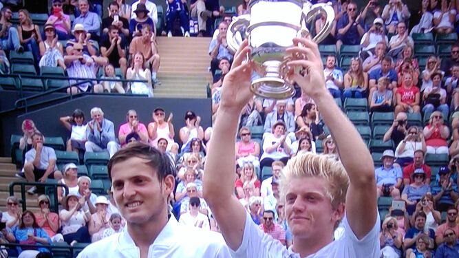 De Calaflores a conquistar Wimbledon