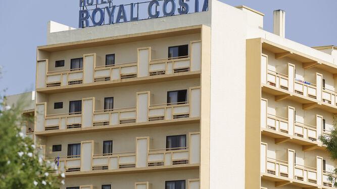 Vista del hotel Royal Costa en Torremolinos.