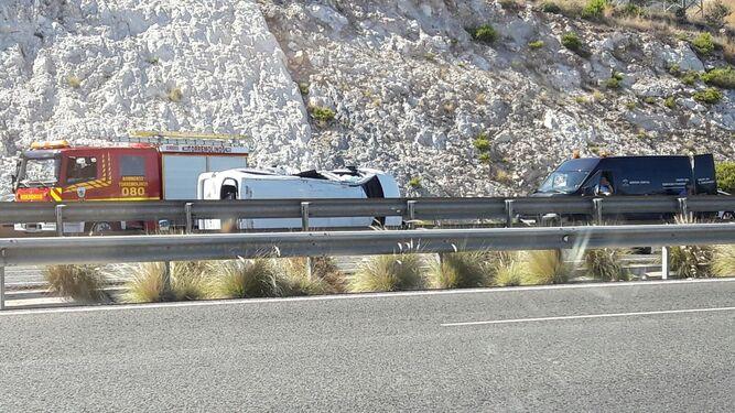 Uno de los vehículos involucrados en el siniestro del pasado junio.