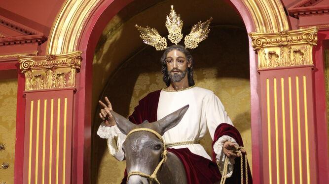 Resultado de imagen de JESÚS ENTRANDO EN JERUSALÉN DE MÁLAGA