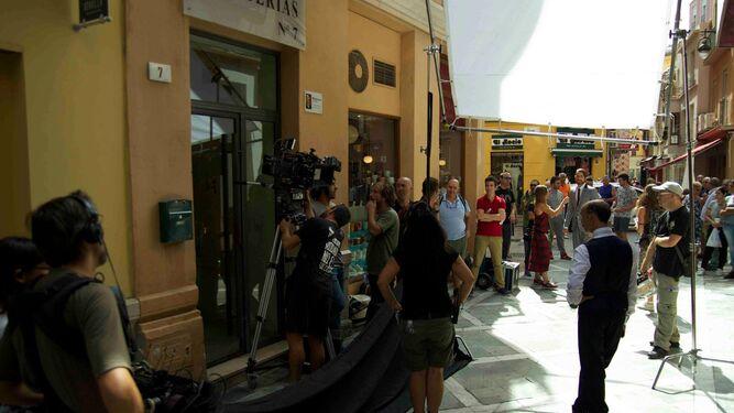 El programa 'Yo amo mi mercado' de Canal Cocina en el Teatro Romano.